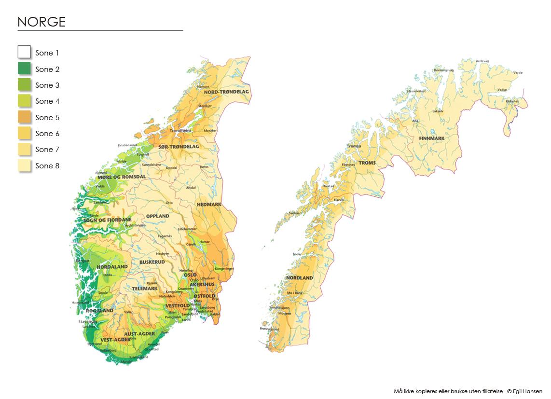 Klimasonekart Eliteplanter Norge Sa